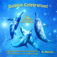 Dolphin Celebration!  Life Beneath the Surface: Highlighting dolphin-human interaction and underwater bubble rings (air rings). This is the 2nd video in Matisha's dolphin DVD series. Experience the joyful, dancing dolphin, closer and more playful than ever! Look into their eyes and hear the healing, ultra-sonic, cetacean song. Enter a realm few have witnessed and fewer understand.